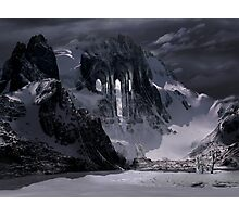 Sanctuary or snow mountain enter Photographic Print
