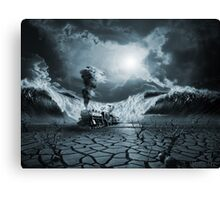Panic Attack or Anxiety PTSD Canvas Print