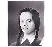 Wednesday Addams Poster
