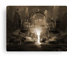Mindscape or virtual reality dreamscape Canvas Print