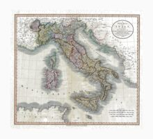 Italy map by John Cary - 1799 Kids Clothes