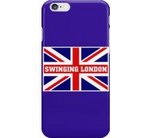 SWINGING LONDON iPhone Case/Skin
