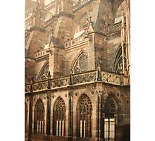 Strasbourg Cathedral  Photographic Print