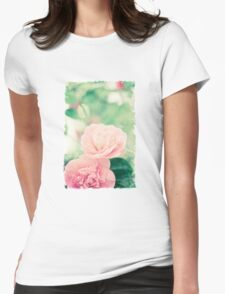 Springtime bloom Womens Fitted T-Shirt