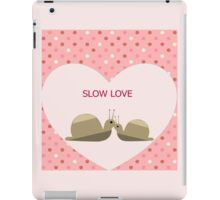 Slow Love iPad Case/Skin