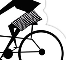 The Bicycle Ride  Sticker