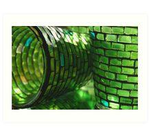The Glass is Always Greener.... Art Print