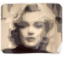 marilyn collage papercraft 3-d Poster