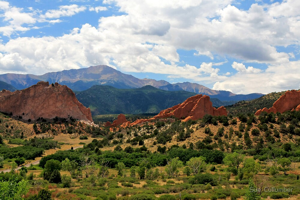 Garden of the Gods by Sue  Cullumber