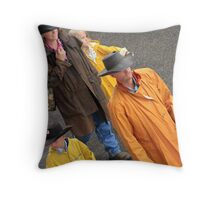 Modern Cowboys Throw Pillow