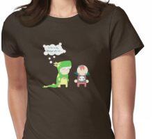 Dino crush Womens Fitted T-Shirt