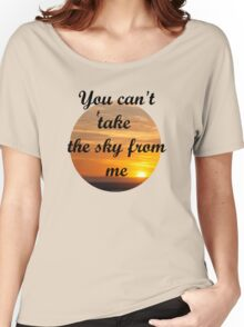 Sunset over the ocean Women's Relaxed Fit T-Shirt