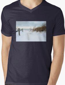 A Snowy Invitation Mens V-Neck T-Shirt