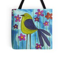 Long Legged Bird Tote Bag