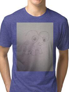Dono reptile  Tri-blend T-Shirt