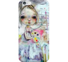 I Create for the One who made me iPhone Case/Skin