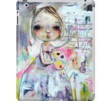 I Create for the One who made me iPad Case/Skin