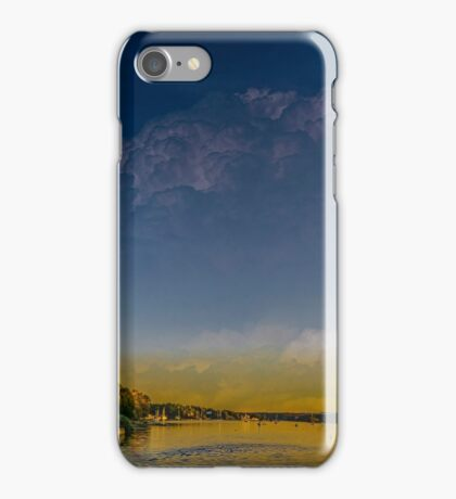 Sunset at Shore Drive iPhone Case/Skin