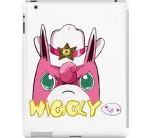Sheriff Wigglytuff iPad Case/Skin