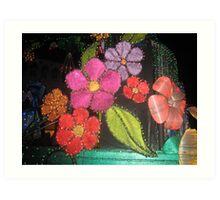 Vivid Colors Art Print