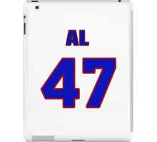 National baseball player Al Olmsted jersey 47 iPad Case/Skin