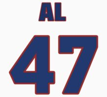National baseball player Al Olmsted jersey 47 by imsport