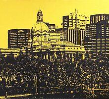 Alberta Legislative Grounds by MIKALOW