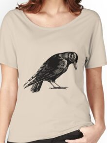 Black Crow or Raven Women's Relaxed Fit T-Shirt