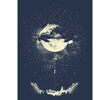 MOON CLIMBING Photographic Print