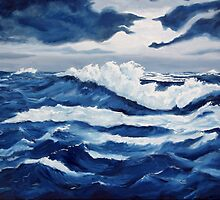 Ocean Storm by Lorraine Foster