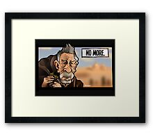 No More War Doctor Framed Print