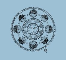 Medieval Astronomical Chart of Planets Unisex T-Shirt