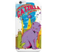 A New kind of killer CATZILLA...all new thrills iPhone Case/Skin