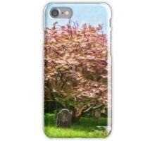 St Levan Churchyard - Impressions iPhone Case/Skin
