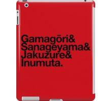 Elite Four - Kill la Kill goes Helvetica iPad Case/Skin