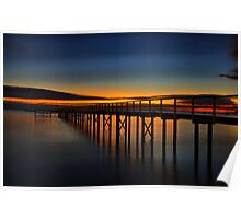 Sorrento Sunrise  Poster
