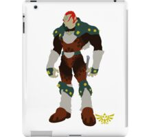 The Legend of Zelda | Minimalist Ganondorf iPad Case/Skin