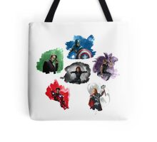 The Avengers + Watercolours Tote Bag