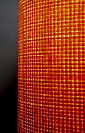 Orange Lamp by HouseofSixCats