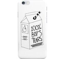 Boy's Tears  iPhone Case/Skin