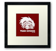Team Edward Framed Print