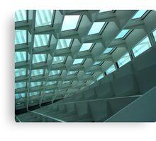 Geometric Architect Canvas Print