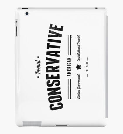 Proud Conservative American iPad Case/Skin