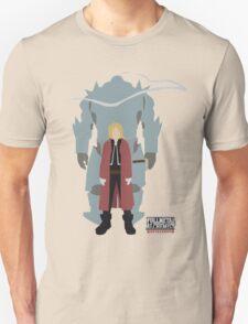 Fullmetal Alchemist Brotherhood   Minimalist Elric Brothers Unisex T-Shirt