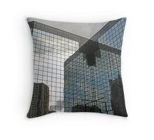 Progress Reflected Throw Pillow