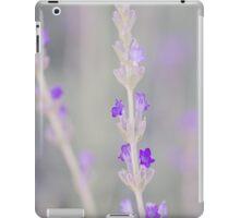 Lavender macro iPad Case/Skin