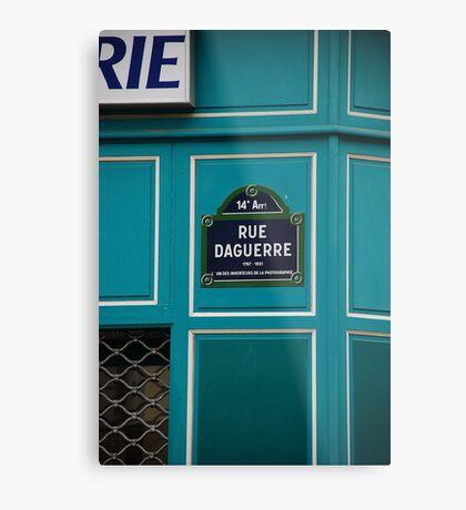 Rue Metal Print