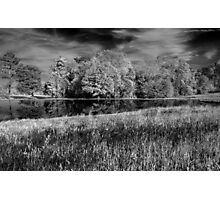 April At The Pond Photographic Print