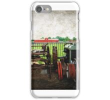 Once upon a time on a farm....... iPhone Case/Skin