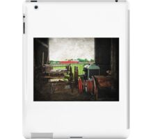 Once upon a time on a farm....... iPad Case/Skin